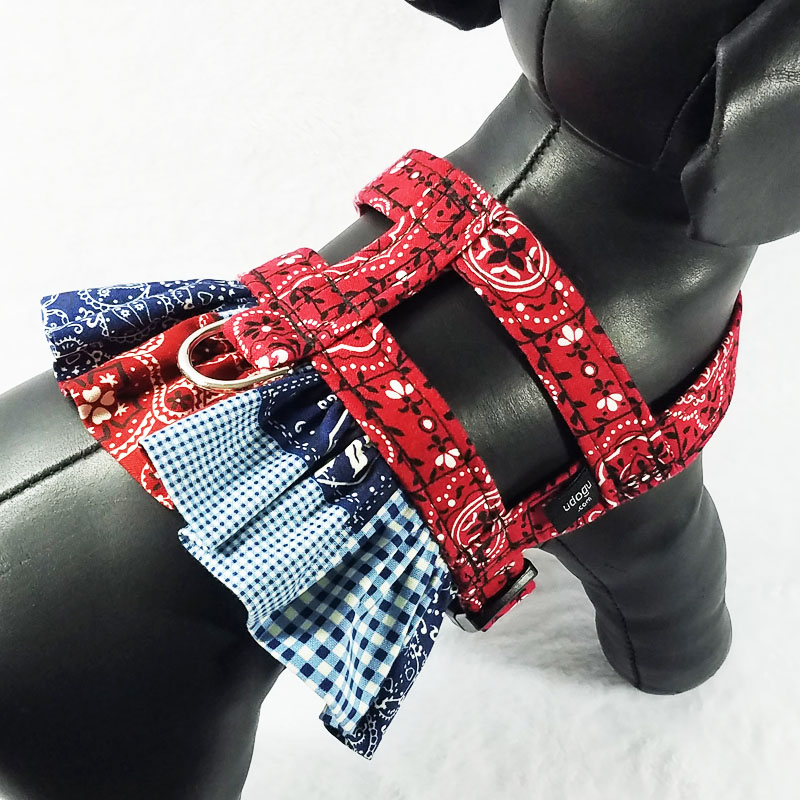 Cowgirl Therapy Dog Ruffle Harness