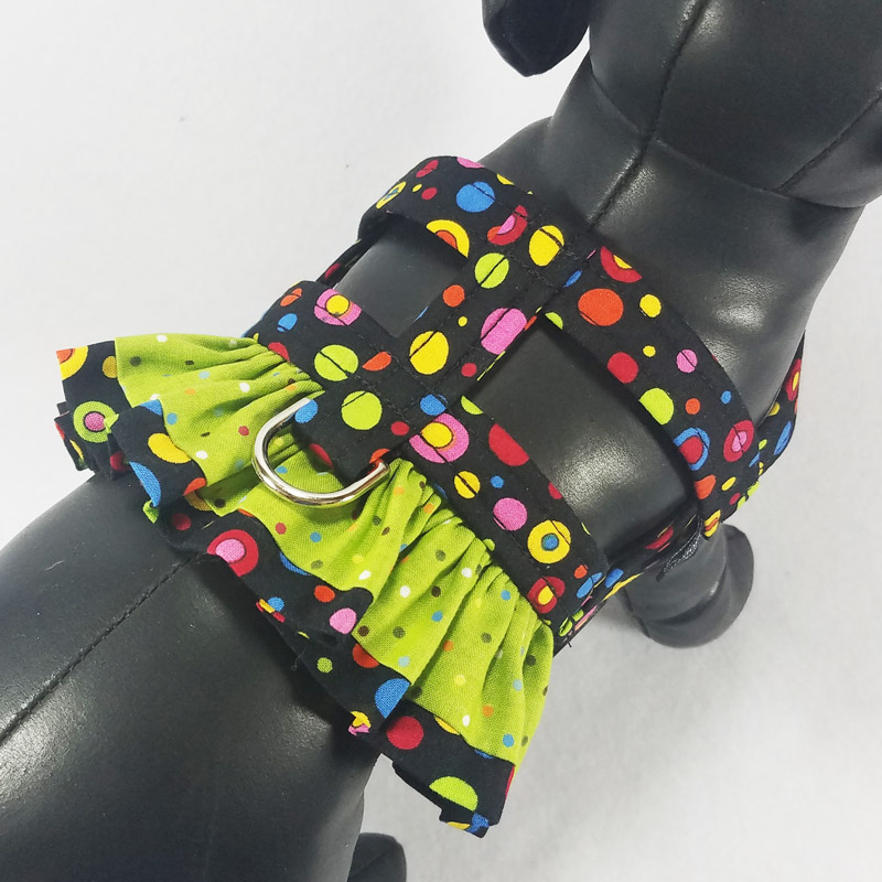 Ruffle Harness - Fiesta - Size Toy Plus