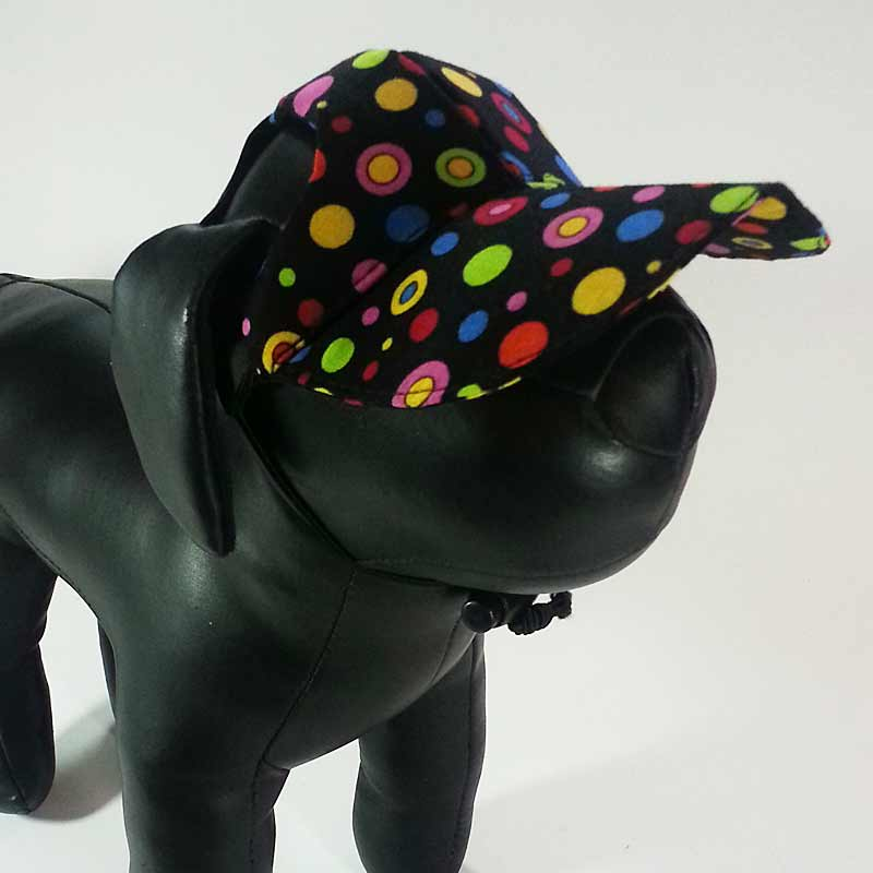 Lots of Dots Dog Hat