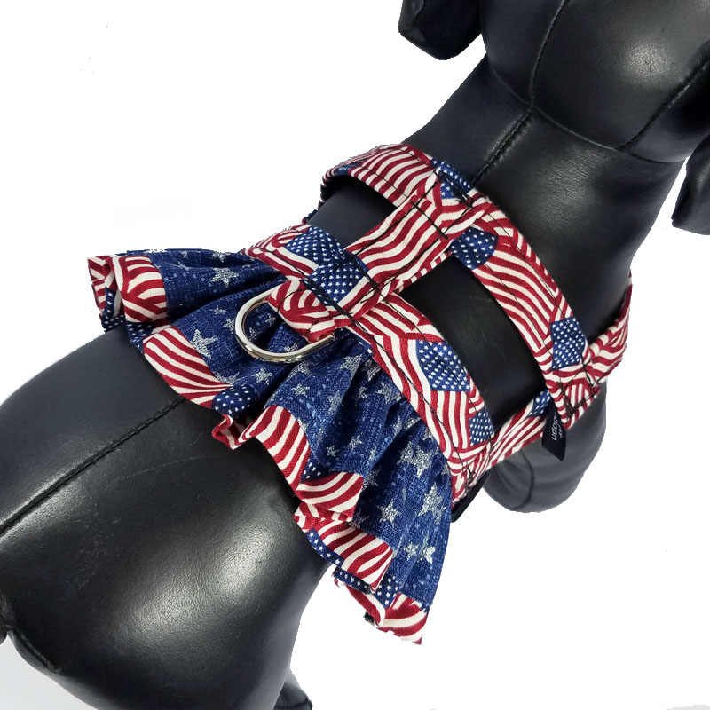 Miss America Ruffle Harness