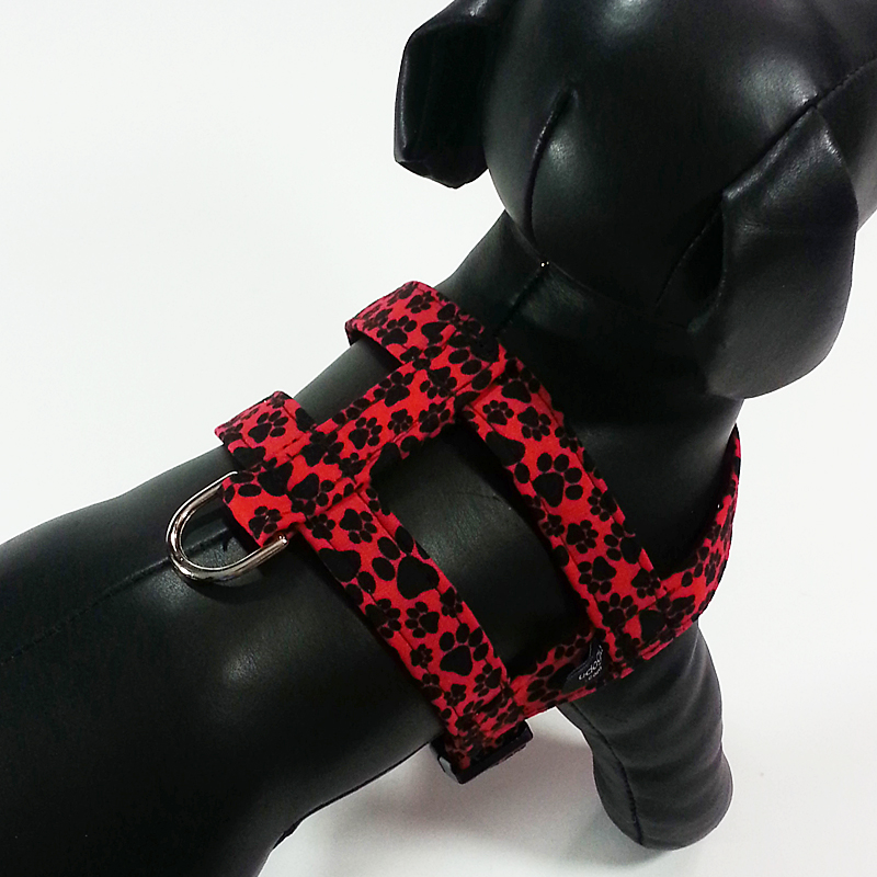 Paws On Red Easy-On Harness