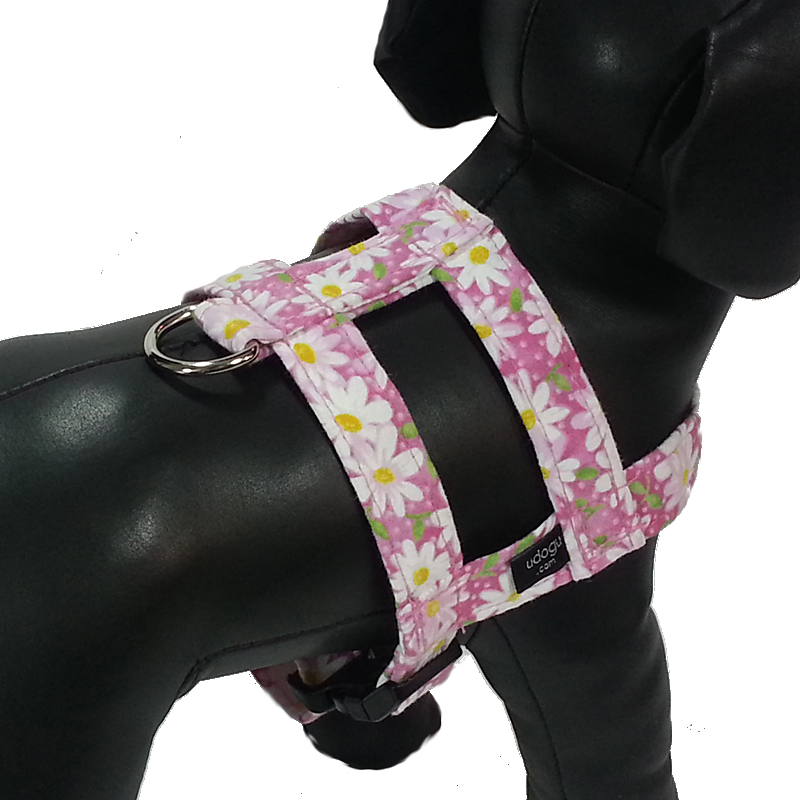 Pink Daisy Easy-On Harness