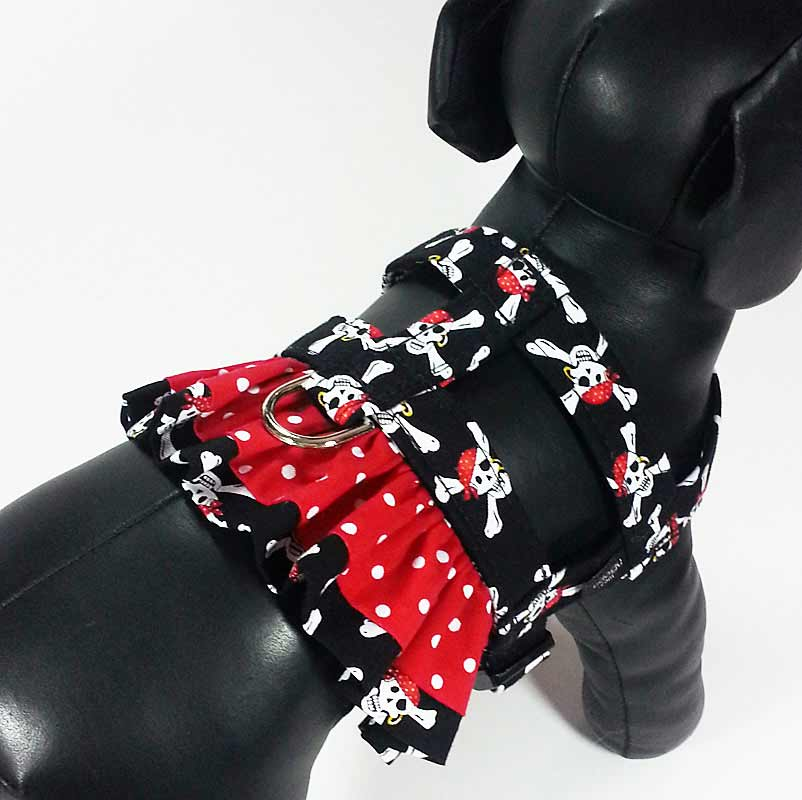 Botany Bay Ruffle Harness