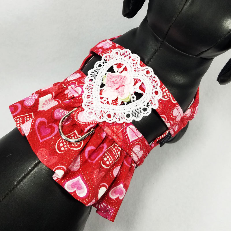 Red Sweetheart Boutique Harness