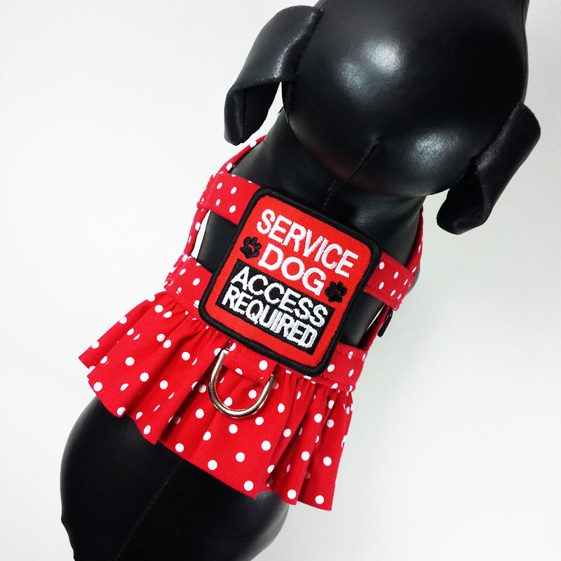 Service Dog Ruffle Harness