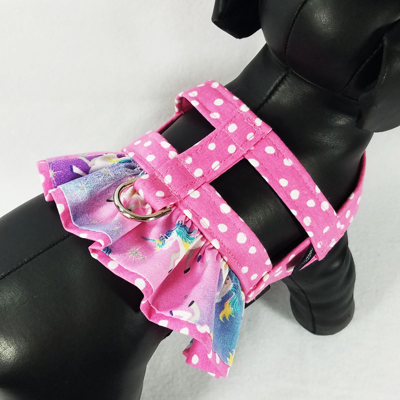 Unicorn Ruffle Harness