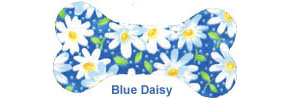 Adjustable Leash - Blue Daisy