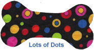 Dog Hat - Lots of Dots - Size Toy
