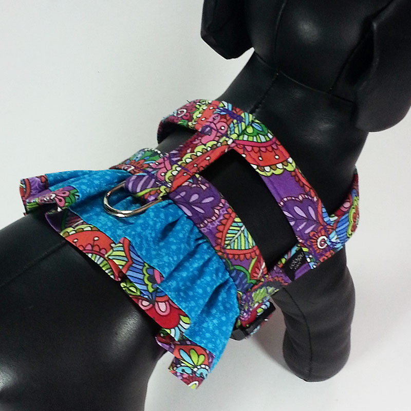 Color-Rama Mama Ruffle Harness